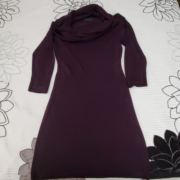 connected apparel Dresses & Skirts - Plum sweater dress